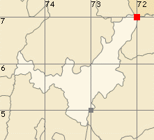 Boyacá map