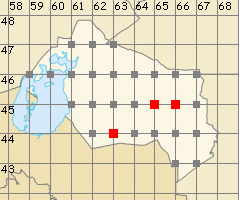 Qyzylorda map