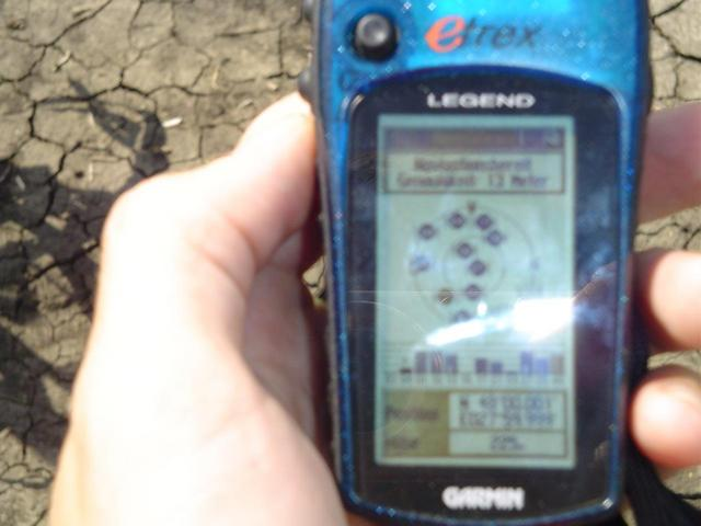 blurry gps pic