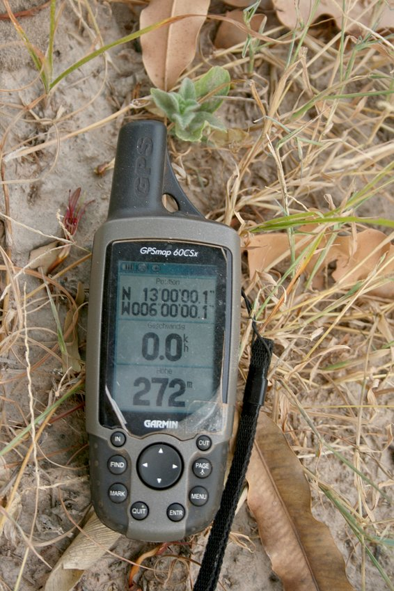 GPS in the millet field