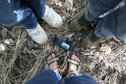 #8: All our feet just on the point