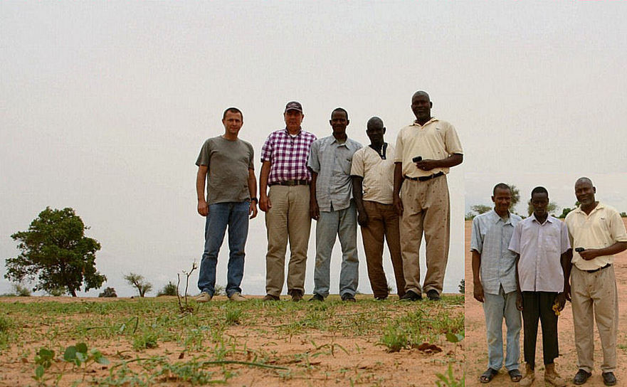 Jean-Luc, Harm-Jan, Fousseini, Sekh, Mamadou and Harouna