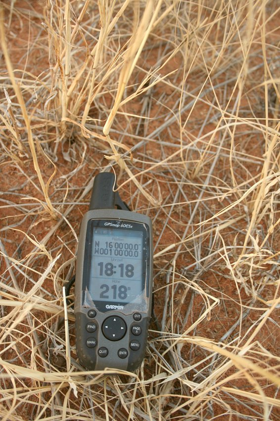 GPS in the grass