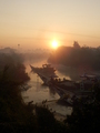 #10: River crossing in the early morning