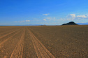 #9: tracks crossing Hovd desert to Khar Nuur
