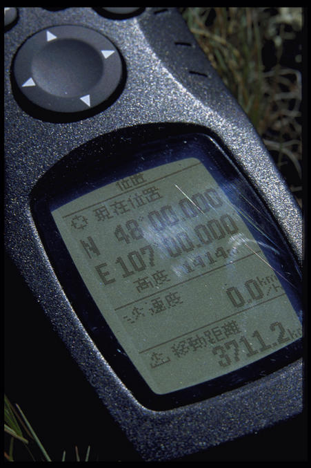 Japanese GPS at work