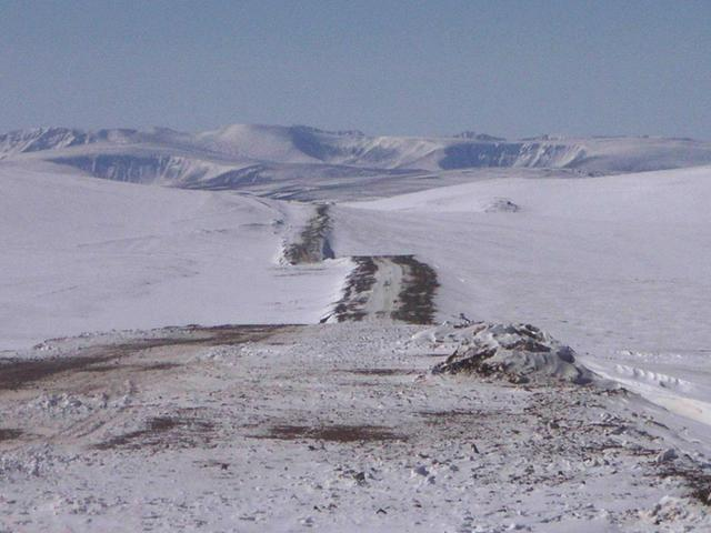 Top of pass