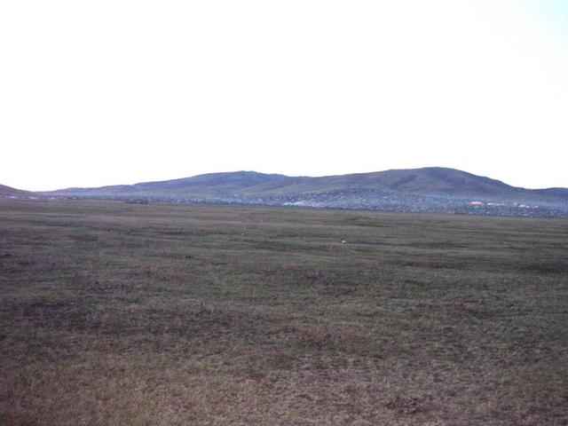 General view - North towards Erdenet city