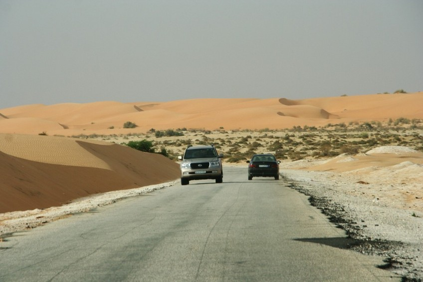 The road from Rosso to Nouakchott