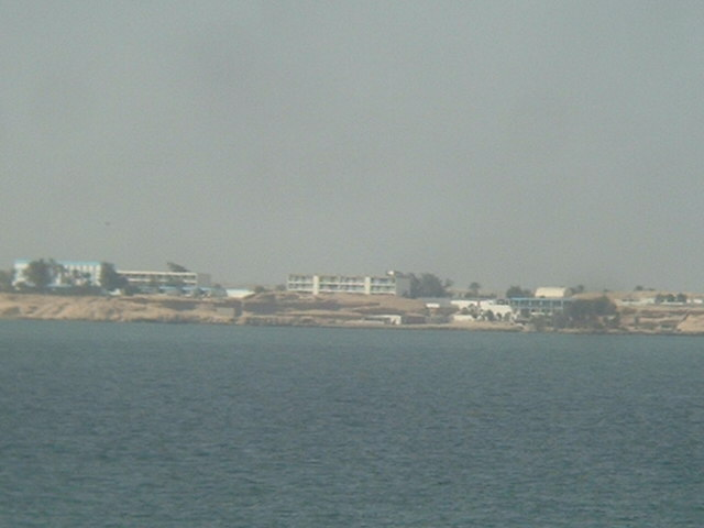 Nouadhibou (Port Etienne) - seen from seawards