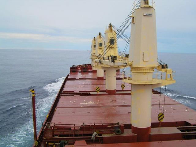 Steaming towards the Gulf of Tehuantepec