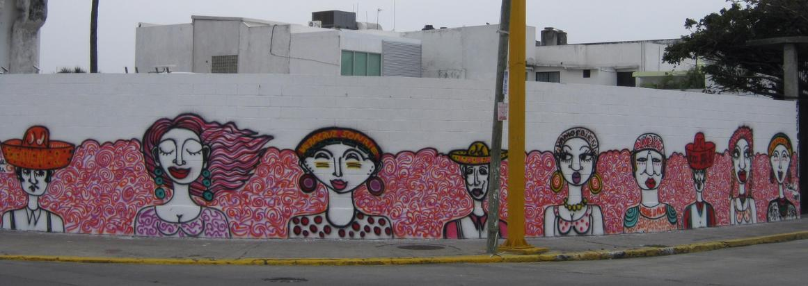 Wall Painting in Villahermosa