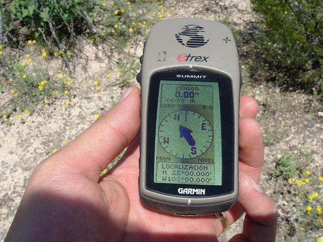 GPS at confluence (zeroes)