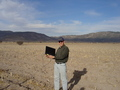 #7: Me at CP with laptop and GPS