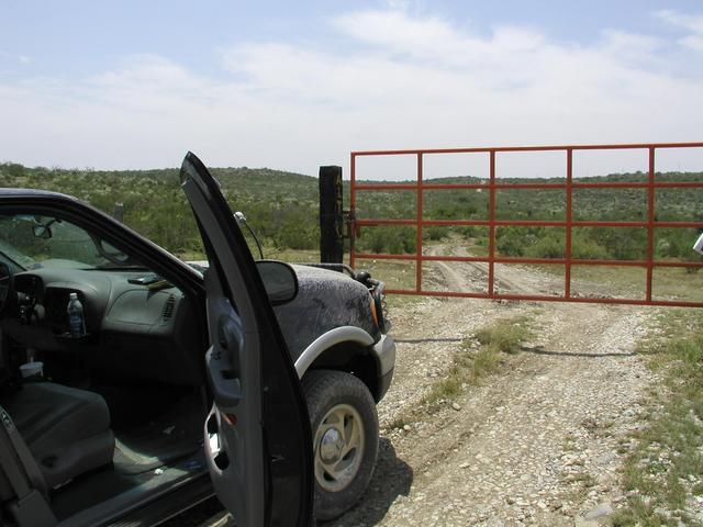 This is the gate that stopped us