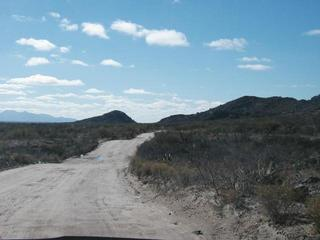 #1: Road welcoming us to Mexico
