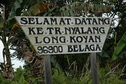 #10: Sign for Long Koyan longhouse
