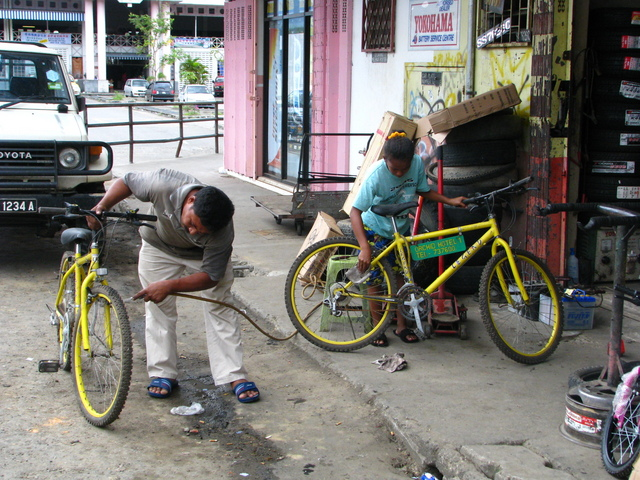 Renting and Servicing the Bikes