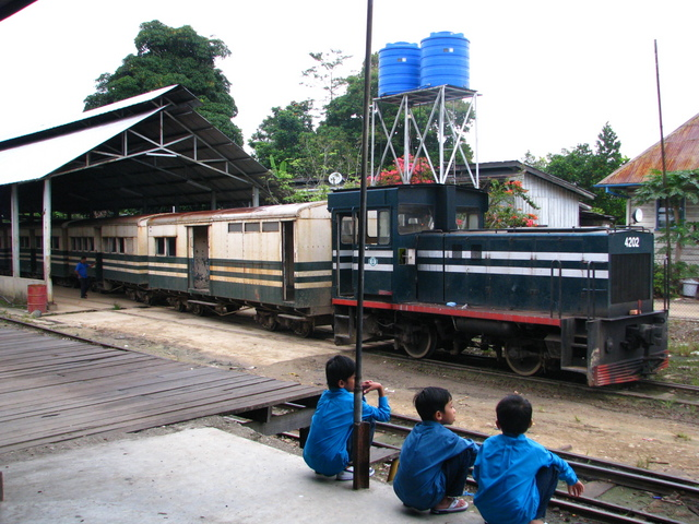 Train Station in Tenom