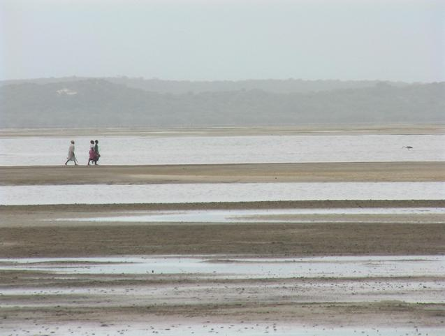 Low tide at Santa Maria
