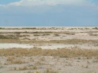 #1: Etosha Pan, towards the point