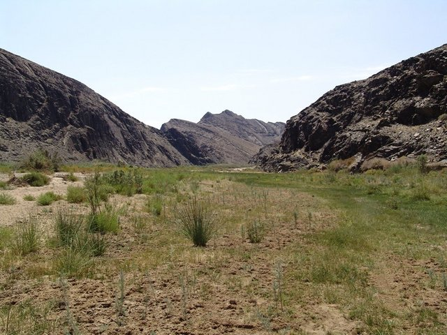 Ugab riverbed