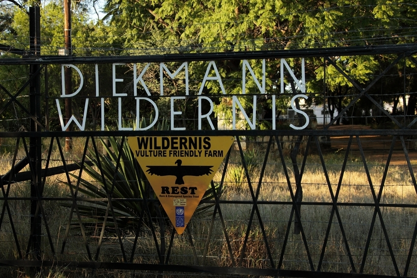 Wildernis farm entrance