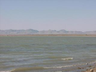 #1: View across dam towards Confluence