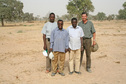 #7: The field team, L to R: A. Souley, L. Mahamane, Y. Guéro, G. Tappan
