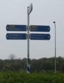 #9: Traffic Sign at the Roundabout