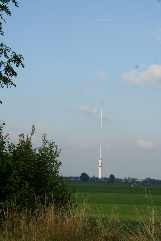 This is the Gerbrandy Tower - currently the tallest structure in The Netherlands