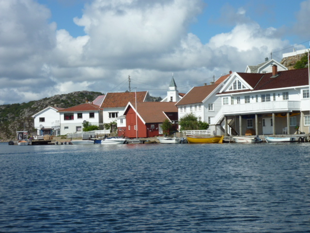 Korshavn, a charming little coastal village