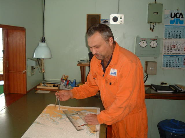 Chief Engineer Volodymyr Kokorev