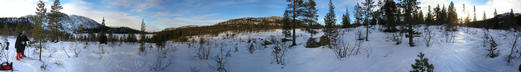 #1: Panorama from the confluence site