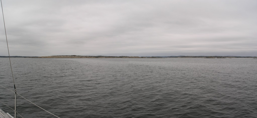 Panoramic view towards W and SW