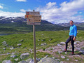 #7: DNT marks the hiking trails on Hardangervidda
