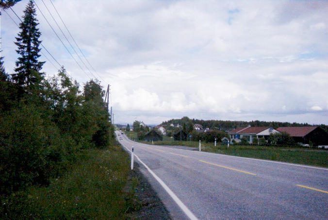 E35 in the direction of Hønefoss