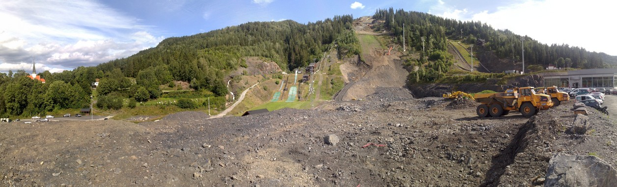 Current Vikersund development work