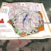 #6: Google Earth image with Orienteering race overlay