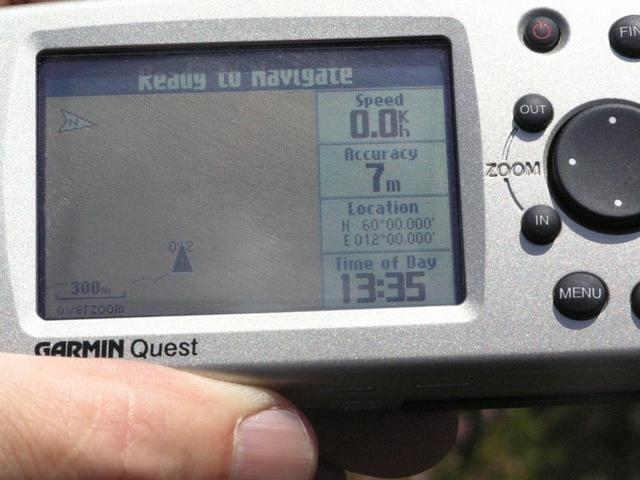 Quest GPS with fewer satellites