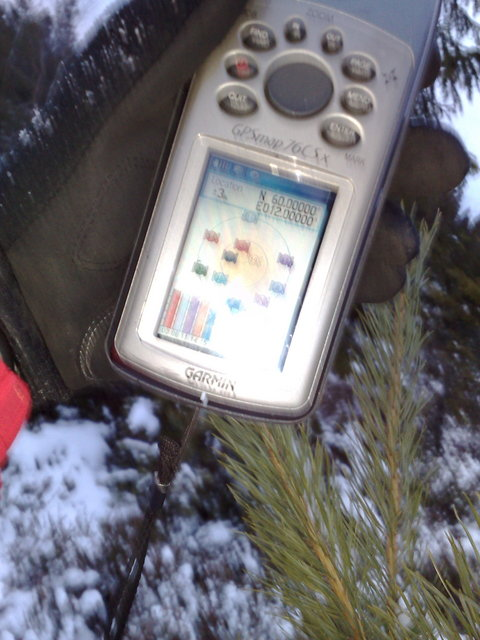 GPS with EGNOS differential correction