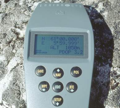 The rather old but still working GPS