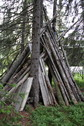 #8: Small pyramid of wood, next to the point