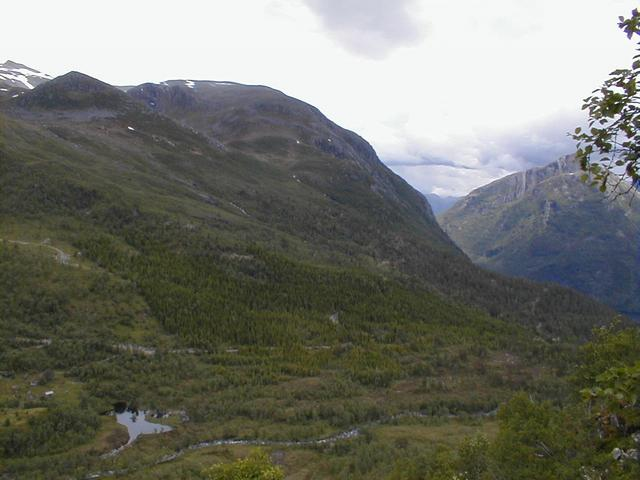 View from confluence, north towards Volda.