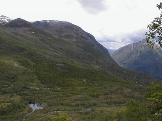 #1: View from confluence, north towards Volda.