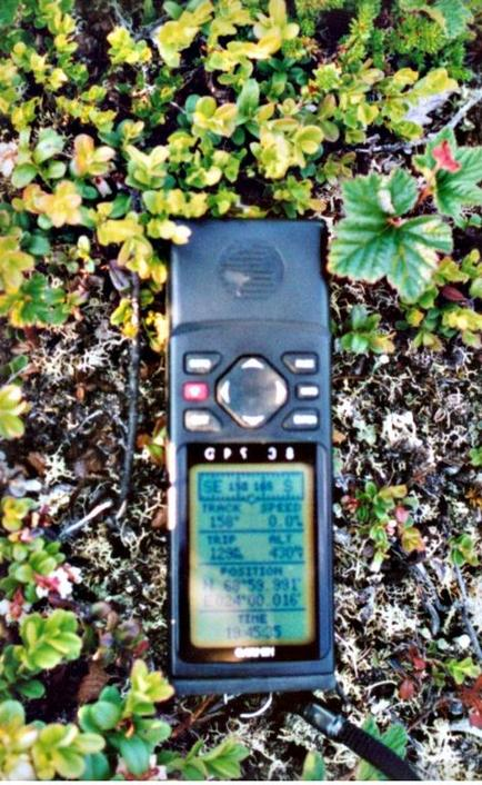 the GPS instrument