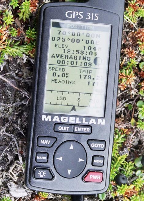 The GPS at the confluence