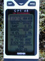 #5: A photo of the GPS for proof.