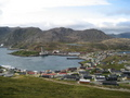 #6: the view back toward Honningsvåg as we climbed the first hill toward the confluence
