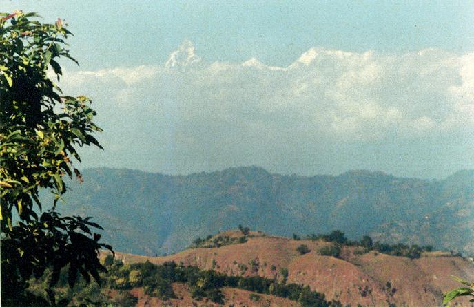 The Machapuhara or Fishtail